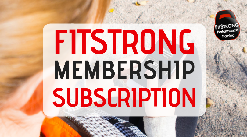 fitstrong membership subscription